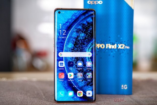 Oppo Find X2 Pro in for review
