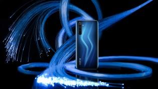 Realme 6 Pro in Lightning Blue color