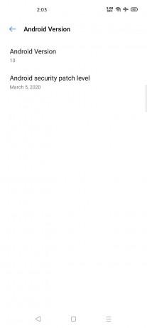 Realme 6 Pro update changelog