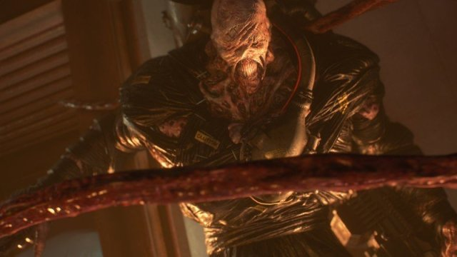 Resident Evil 3 Nemesis tentacles