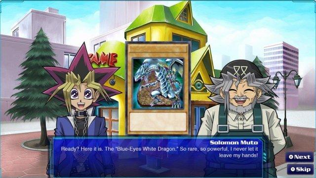 Yugioh Legacy Of The Duelist Link Evolution Yugi Grandpa Blue Eyes