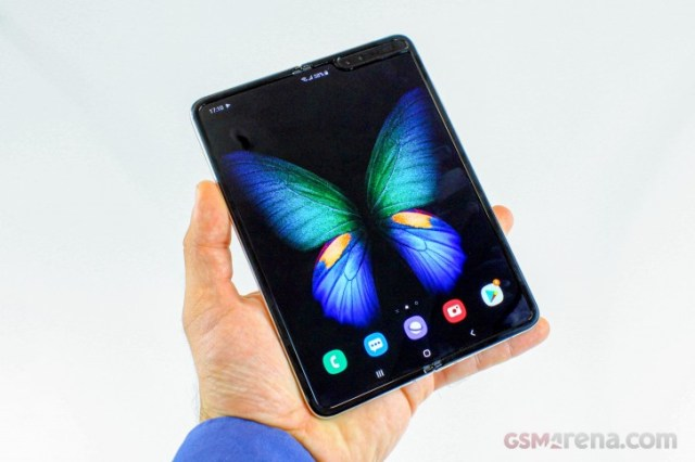 Samsung Galaxy Fold finally gets Android 10 update