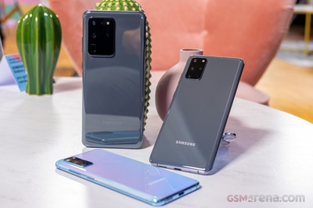 Samsung ships Galaxy S20/S20+ orders in US early, Verizon issues update