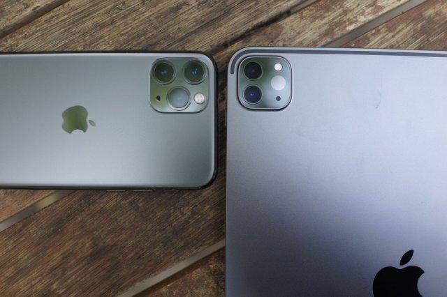 Deux caméras pour l'iPad Pro, et le Lidar en plus