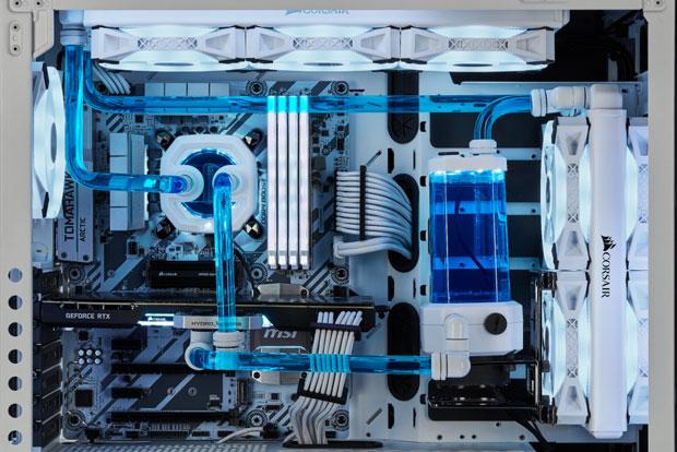 Composants White Edition (Watercooling DIY) de Corsair