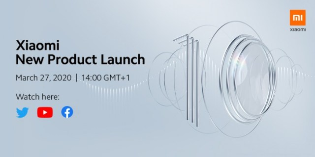 Xiaomi Mi 10 and Mi 10 Pro will make their global debut on March 27