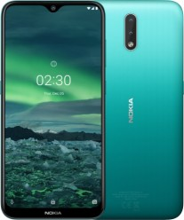 Nokia 2.3 in Cyan Green color