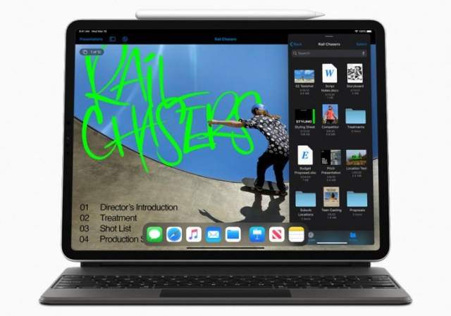 Apple updates iMovie and iWork suite for iPadOS with mouse and trackpad support