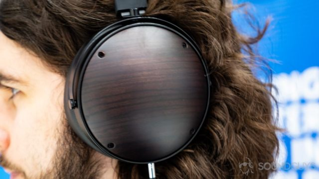 A photo of the Monoprice Monolith M1060C over-ear headphones.
