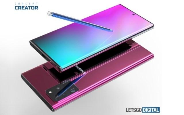 Samsung Galaxy Note 20 4G Model