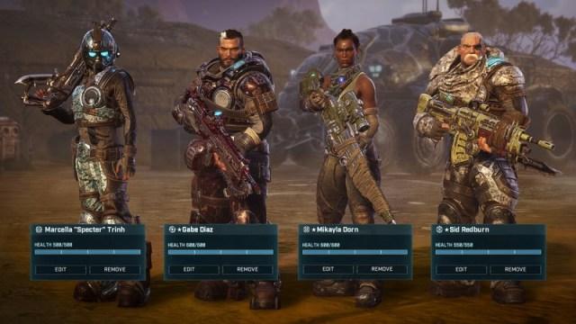 Gears Tactics customization