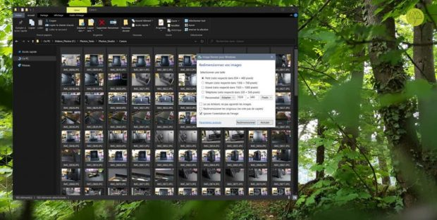 Image Resizer pour Windows 10