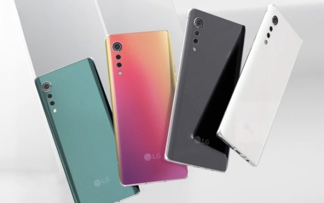 LG Velvet April 20 2020