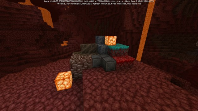 Minecraft Nether Update Beta Items