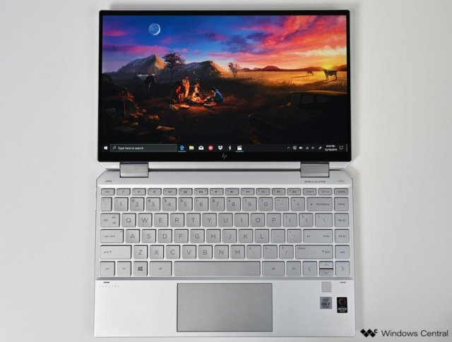 Hp Spectre X360 13 Late 2019 Top