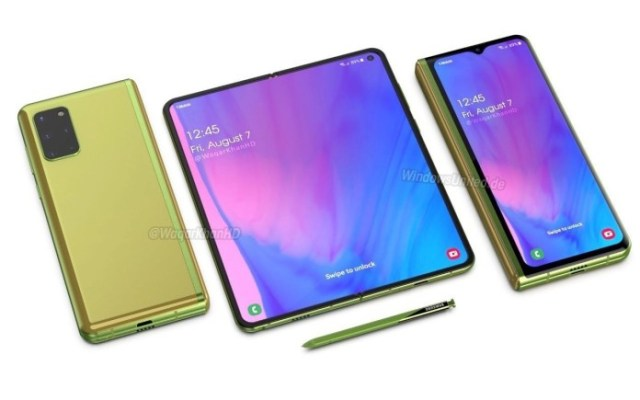 Samsung Galaxy Fold 3 Concept Foldable Phone April 13 2020