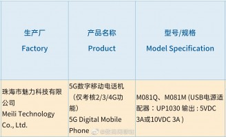 Meizu 17 at 3C: 5G connectivity, 30W fast charging