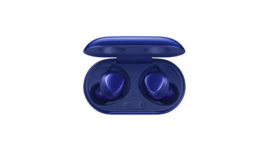 Samsung Galaxy Buds+ Aura Blue Inside Case