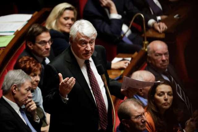 Claude Goasguen, alors député Les Républicains de Paris, à l'Assemblée nationale, en décembre 2018.