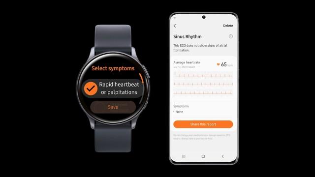Samsung Health Monitor App ECG