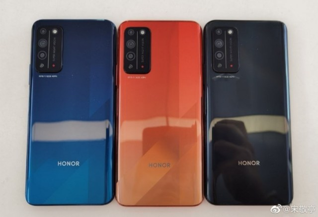 Honor X10 live image surface ahead of launch