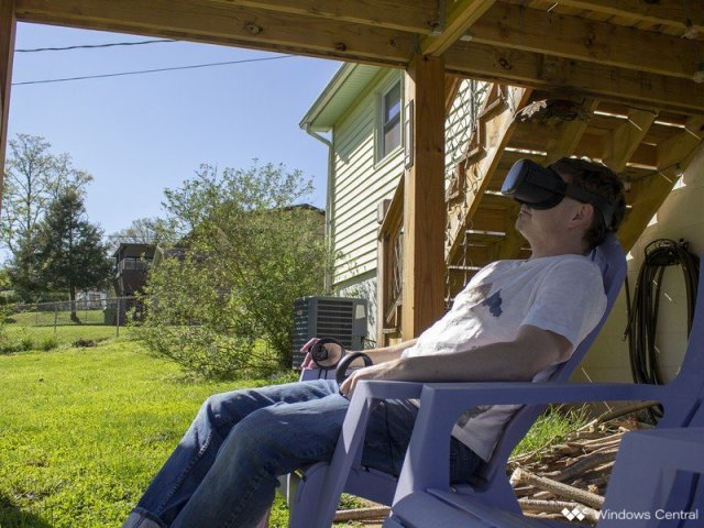 Oculus Quest Relax Outside