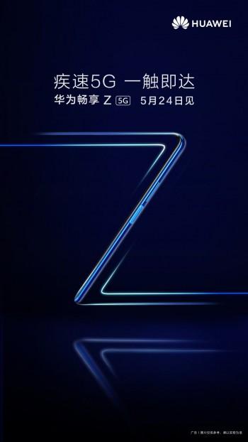 Huawei Enjoy Z 5G coming on May 24