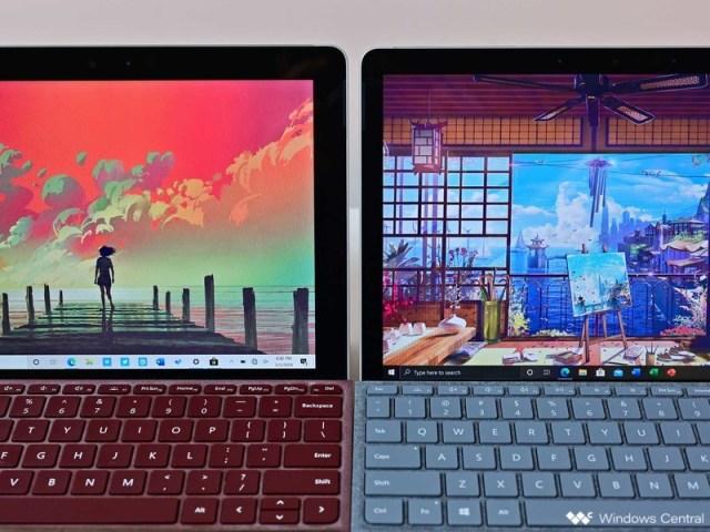Surface Go vs. Surface Go 2