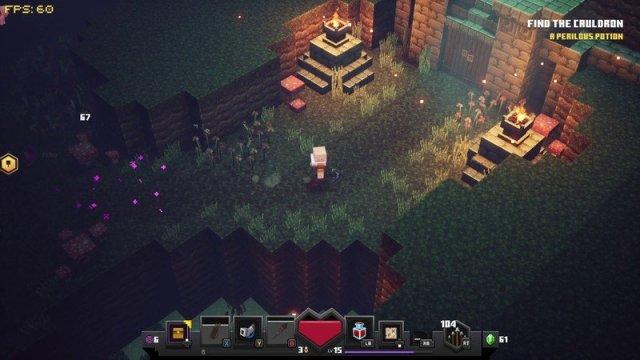 Minecraft Dungeons Cave