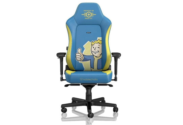 Fauteuil Gaming Noblechairs HERO Fallout Vault-Tec Edition