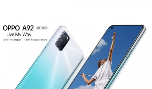 Oppo A92 launched in Malaysia, is just a rebranded A72