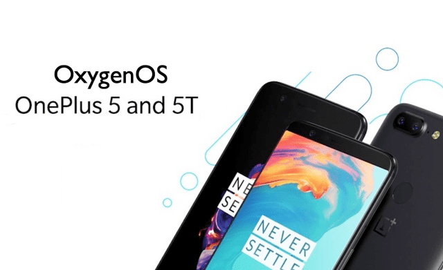 OxygenOS Android 10 OnePlus 5T OnePlus 5T