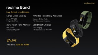 Realme Watch and Realme Band