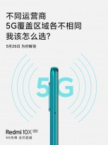 The Redmi 10X will be the first phone with 5G dual SIM support