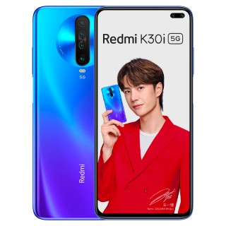 Redmi K30i 5G in blue and white