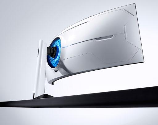 Samsung Odyssey G9 2020 Gaming Monitor Rear