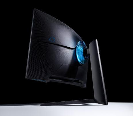 Samsung Odyssey G7 2020 Gaming Monitor Rear
