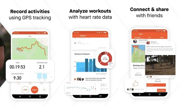 Strava Fitness Running App May 2020