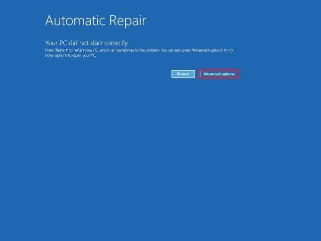 Windows 10 automatic repair