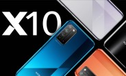Honor X10 5G arrives with Kirin 820 SoC, notchless display, and 40MP triple camera
