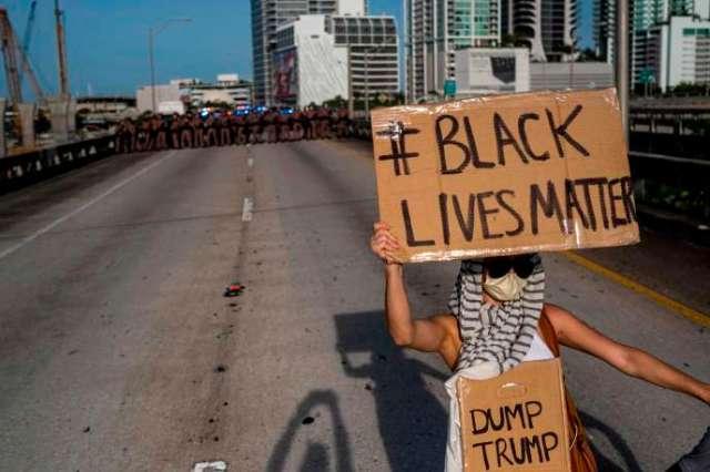 Manifestation à Miami, en Floride, le 31 mai.