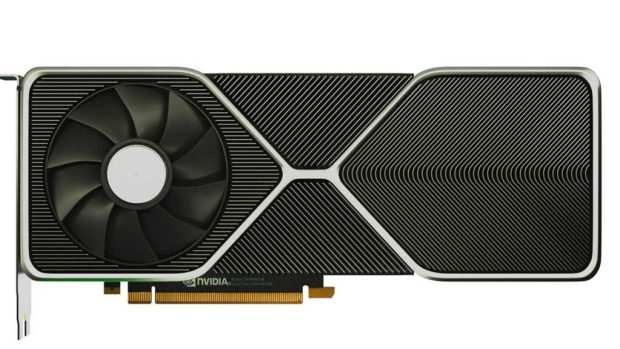 Rendu de la GeForce RTX 3080 Ampere de Nvidia