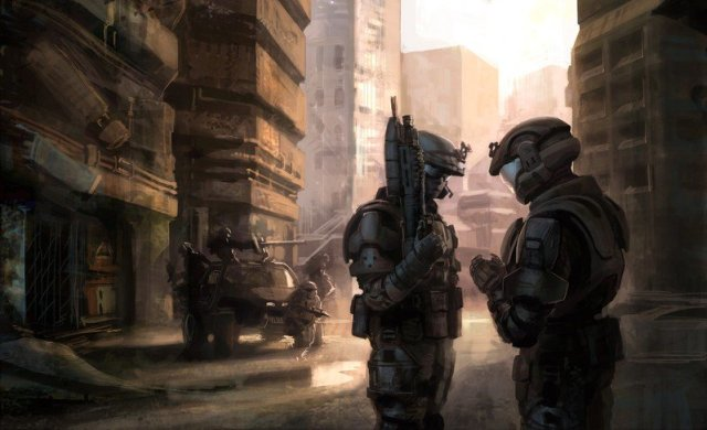 Halo 3:ODST concept art