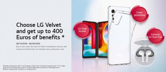 LG Velvet 5G launches in Europe with €650 price tag, €400 in pre-order goodies
