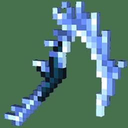 Minecraft Dungeons Frost Scythe