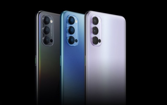 Oppo Reno4 and Reno4 Pro official with SD765G, 65W charging and triple cameras