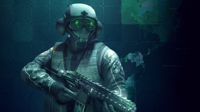 Rainbow Six Siege Jager Covert Skin Set