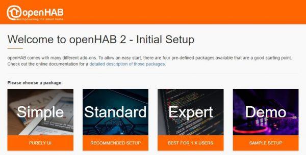 Raspberry Pi OpenHAB User Interface Setup