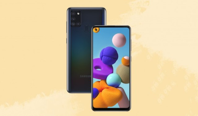 Samsung Galaxy A21s arrives in Russia