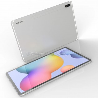 Samsung Galaxy Tab S7+ CAD renders